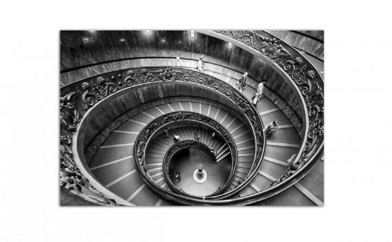 Cuadro Escaleras de Caracol