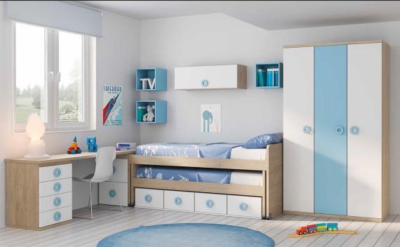Dormitorio Juvenil Hades