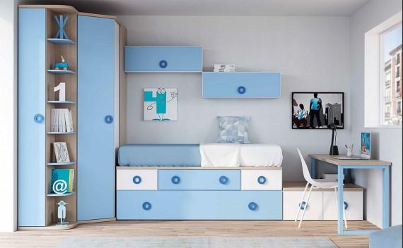 Dormitorio Juvenil Eris