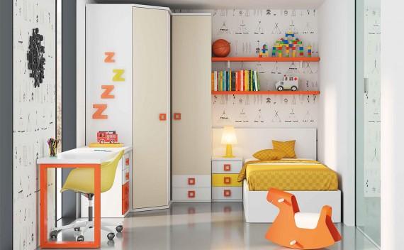 Dormitorio Juvenil Enio