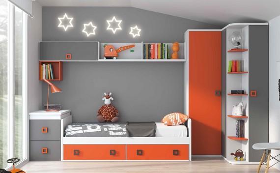 Dormitorio Juvenil Huma