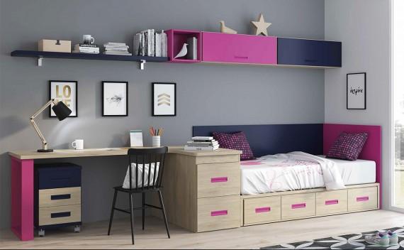 Dormitorio Juvenil Rea