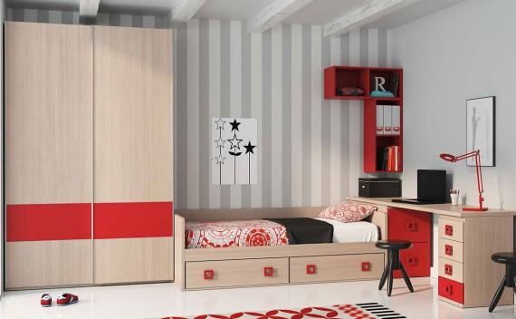 Dormitorio Juvenil Gea