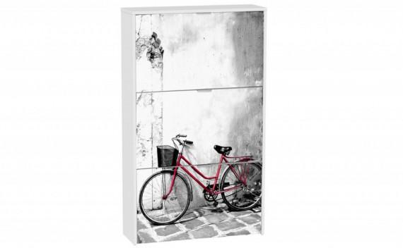 Zapatero 3 Trampones Bicicleta Roja