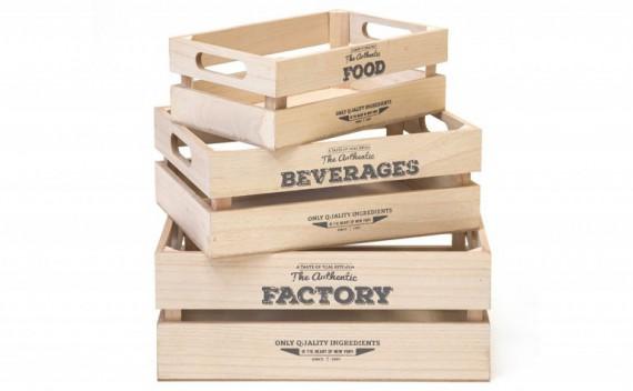 Set 3 Cajas Factory