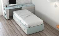Dormitorio Juvenil con Encimera Deslizable