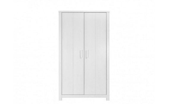 Armario de 2 Puertas Basic Wood White Wash
