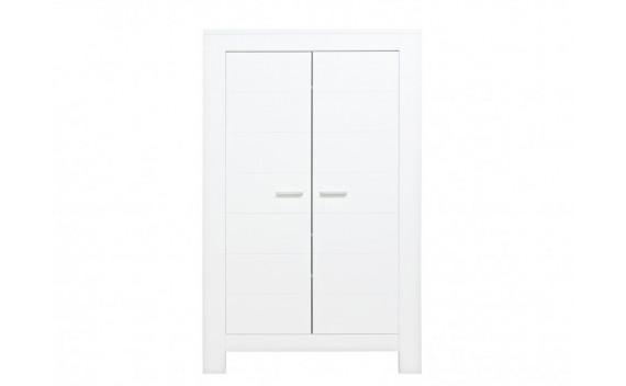 Armario de 2-Puertas Merel Blanco