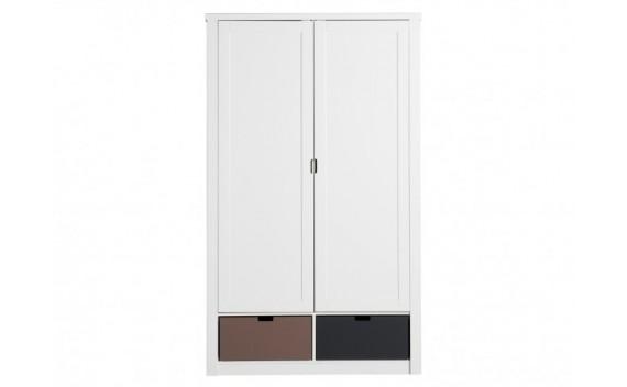 Armario de 2-Puertas Mix & Match Luxe Blanco