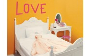 Cama Doble 120x200 Romantic Blanco