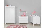 Armario 2-Puertas XL Romantic Blanco