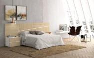 Dormitorio Olimpo Zeus Blanco y Roble