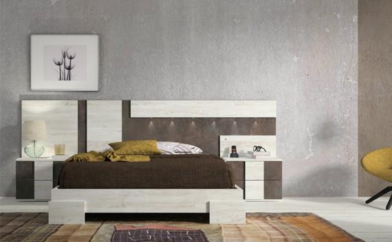 Dormitorio Olimpo Teseo Piedra y Rustic