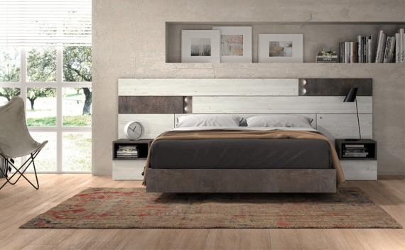 Dormitorio Olimpo Hera Piedra y Rustic