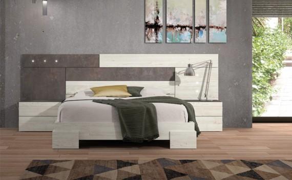 Dormitorio Olimpo Baco Rustic y Piedra