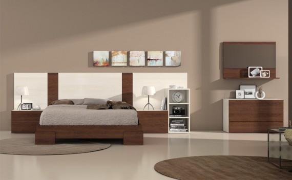 Dormitorio Olimpo Hércules Glaciar y Nogal